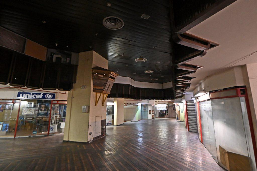 Galerie abandonnée