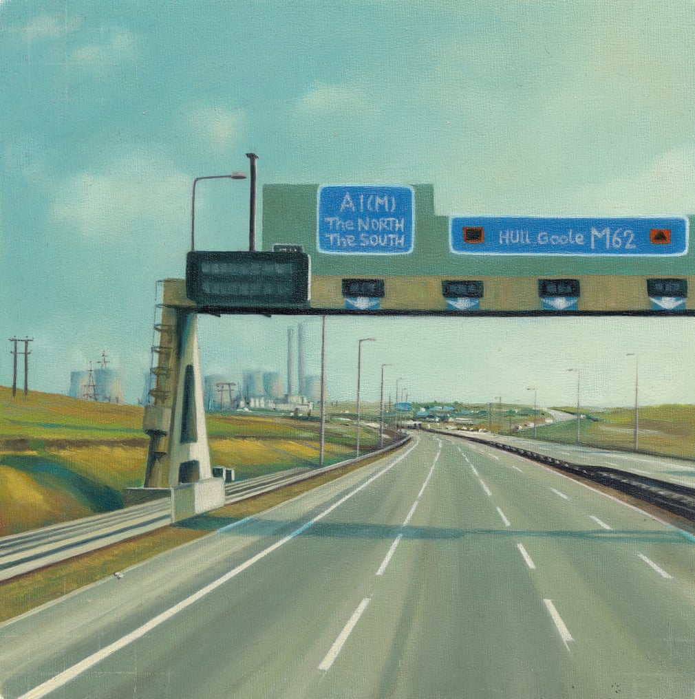 Painting the memories evoked by motorways – in pictures